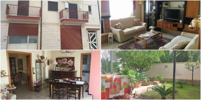 Appartamento quadrivani con giardino e ampio locale a Rutigliano
