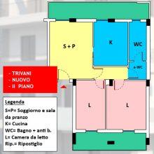 Appartamento 3 vani nuovo con possibilità box auto, Rutigliano – n14-76