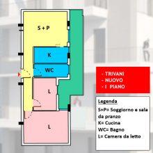 Appartamento 3 vani nuovo con possibilità box auto, Rutigliano – n2-70