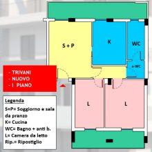 Appartamento 3 vani nuovo con possibilità box auto, Rutigliano – n7-74