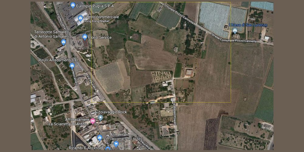Terreno agricolo in contrada San Lorenzo a Rutigliano (Bari)