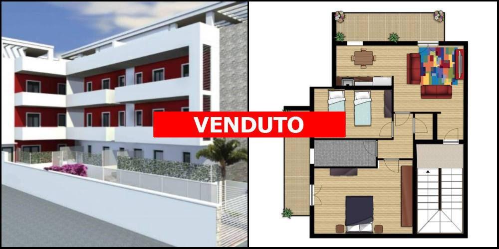 Appartamento di nuova costruzione più possibilità di box auto, vano tecnico e lastrico solare (zn. via Italia, Rutigliano)