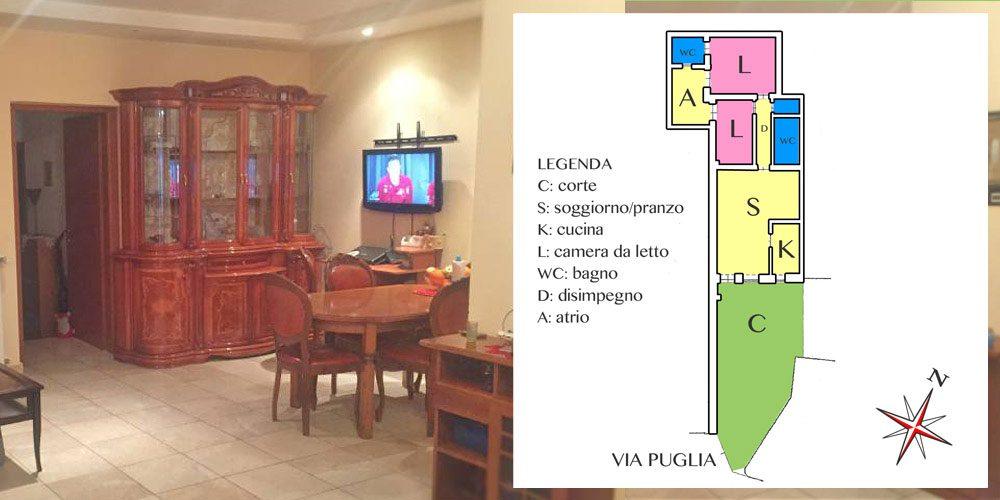 Casa semi indipendente in zona via Noicattaro, Rutigliano