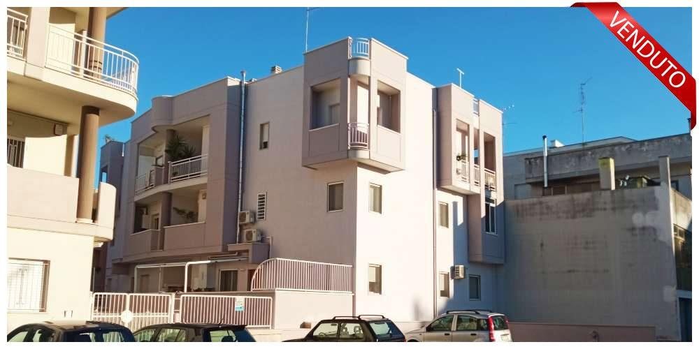 Appartamento con box auto in zona via Nobel/Pitagora a Rutigliano